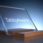 Tabby Awards trophy